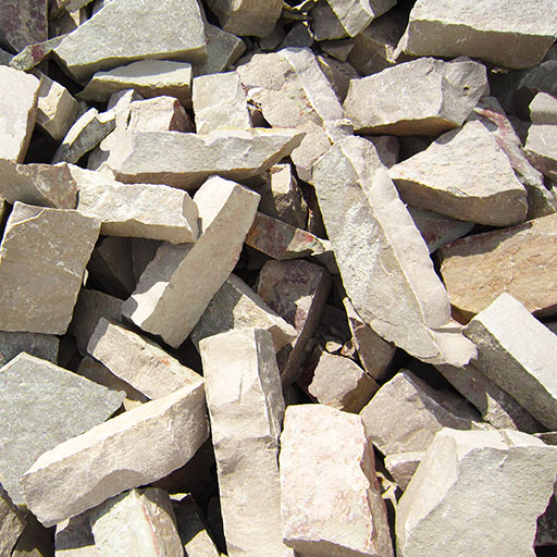 Crushed Stone Inc : Crushed and washed stone rip rap rademann