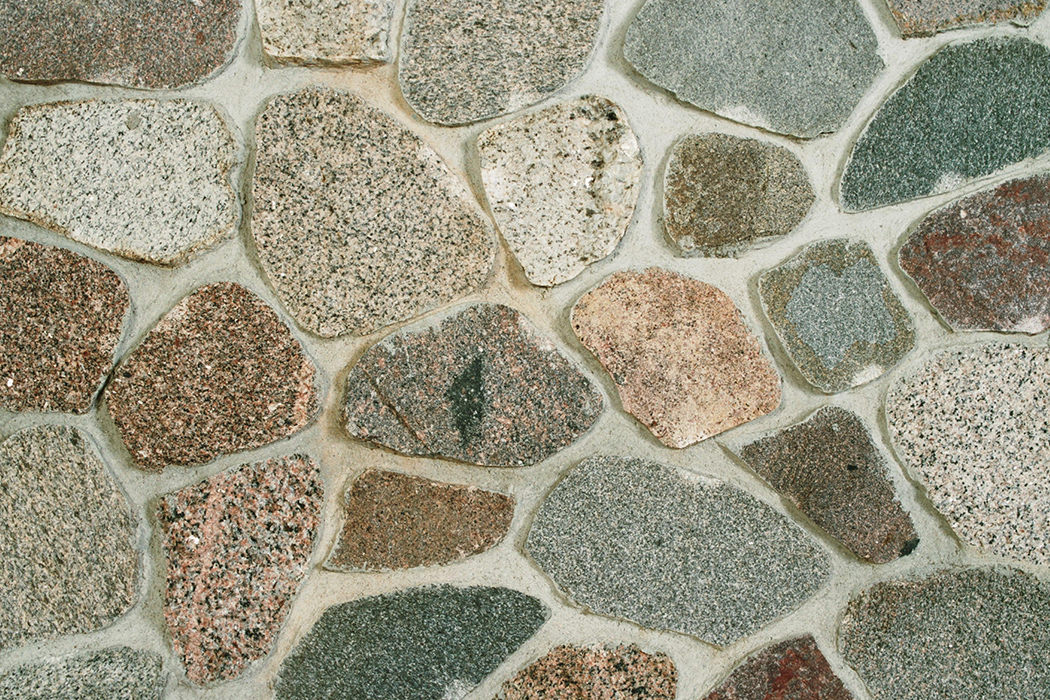 Split Granite Cobbles