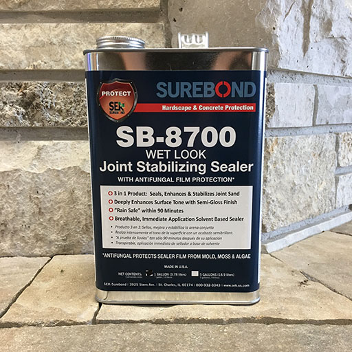 SB-8700 Wet Look Joint Stabilizing Sealer
