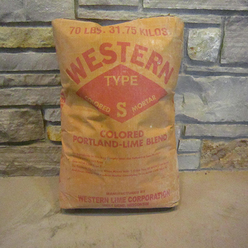 Western Type S (Colored Mortar)
